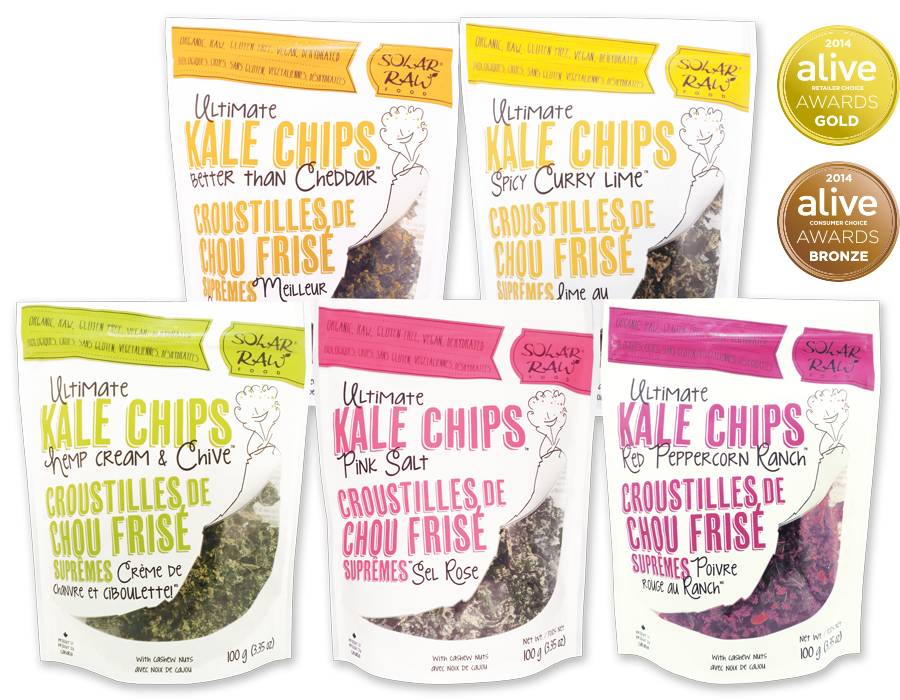 Solar Raw Ultimate Kale CHips