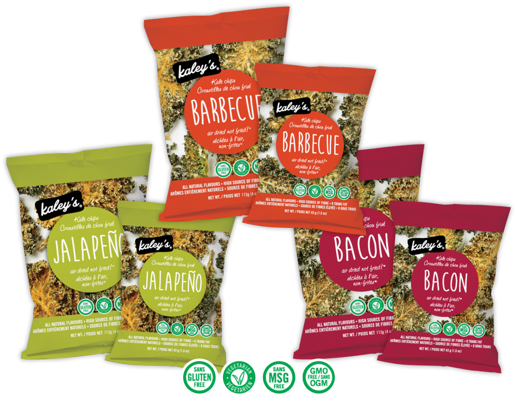 Kaley's Kale Chips product