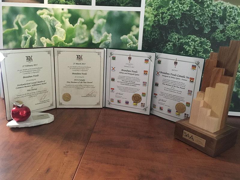 Brandneu Foods Awards Image 1