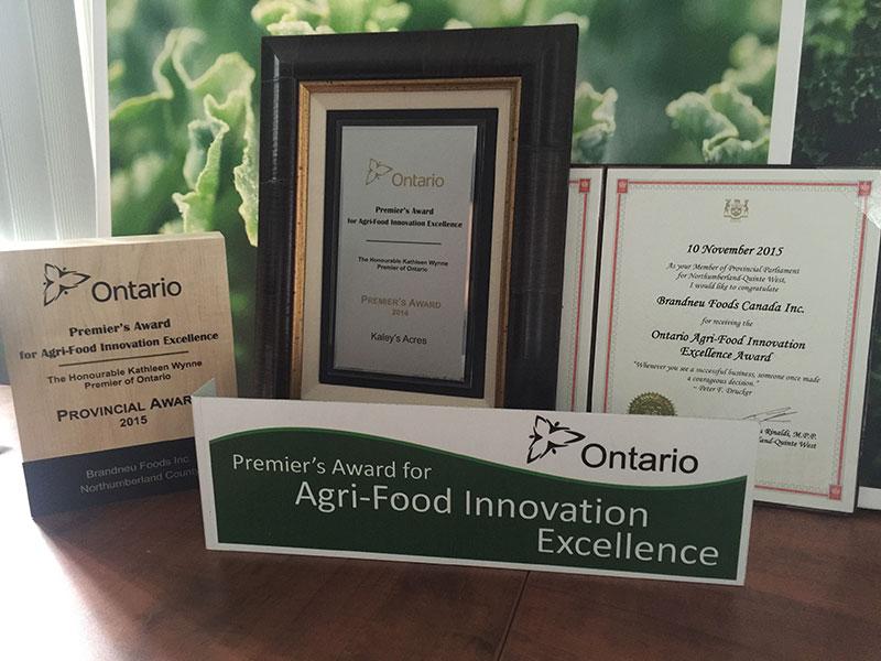 Brandneu Foods Awards Image 2